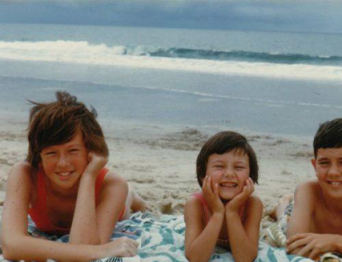Sharny, Helen & Steve Russell, Gold Coast circa 1970