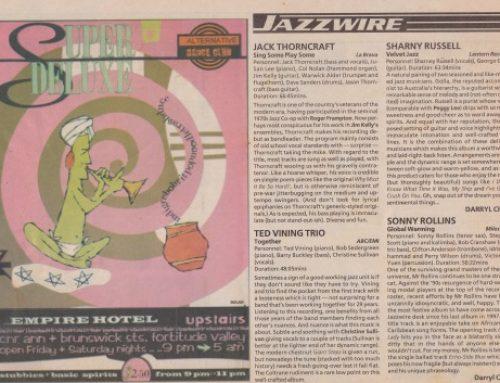 Jazzwire Brisbane, 1998
