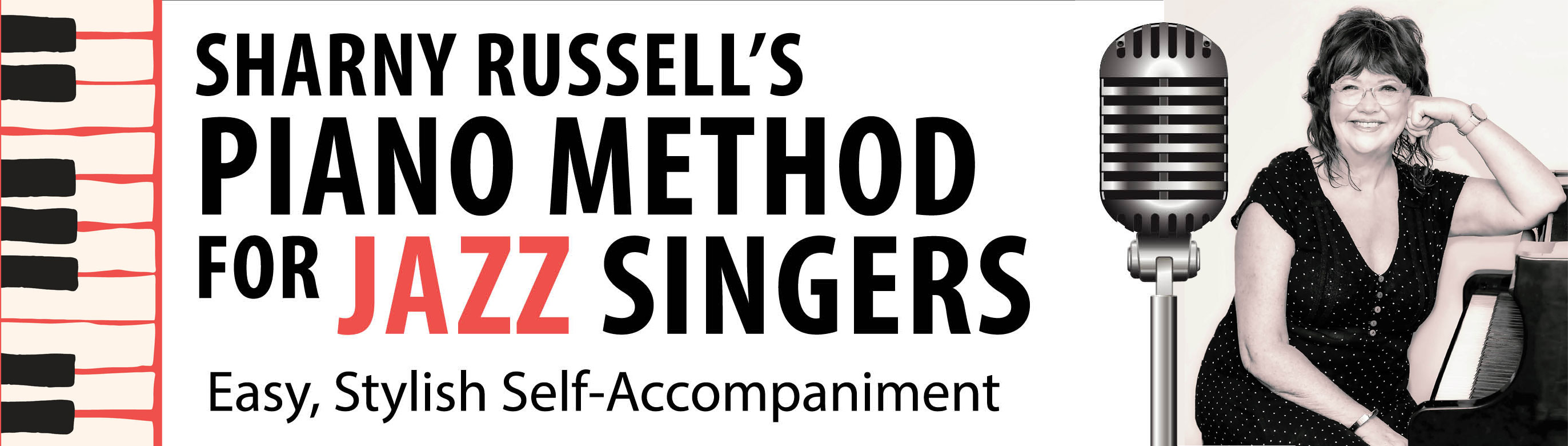 Sharny Russell Piano Method for Jazz Singers